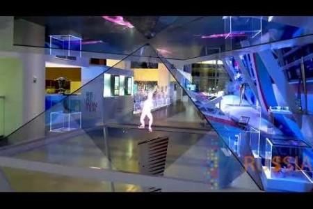 Компания Interactive Russia выполнила застройку музея Зимней Универсиады