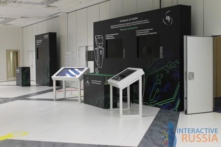 """Компания """"Interactive Russia"""" предоставила интерактивные столы Dedal presenter 42 для компании """"Инфосистемы ДЖЕТ"""""""